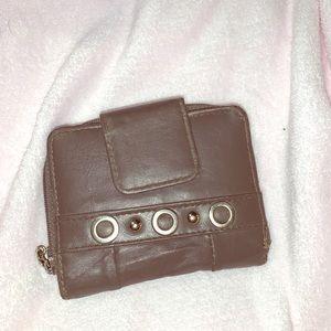mini wallet + coin purse